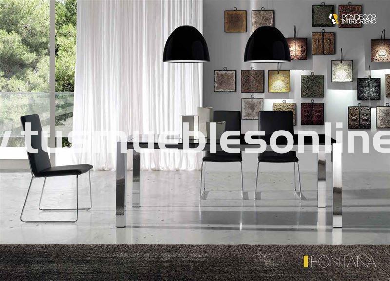 Mesa de comedor diseño mod. Fontana - Mesas