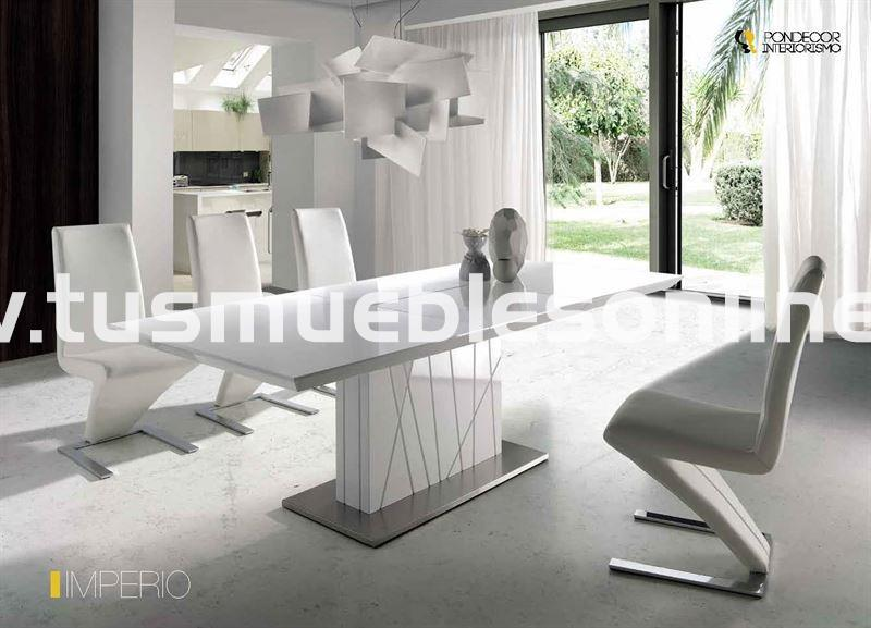 Mesa de comedor diseño mod. Imperio