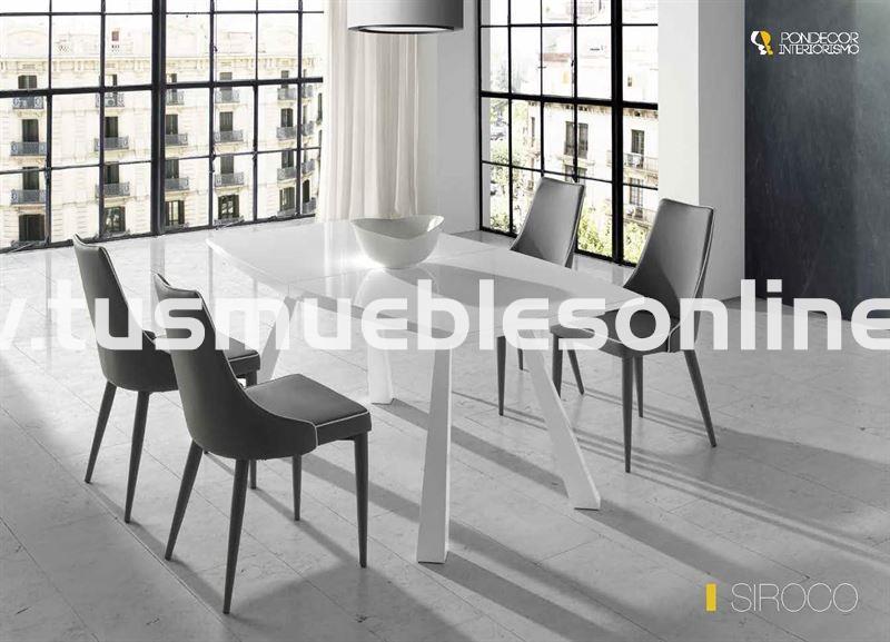 Mesa de comedor diseño mod. Siroco - Mesas