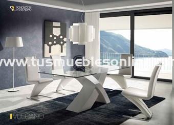 Mesa de comedor diseño mod. vulcano - Mesas